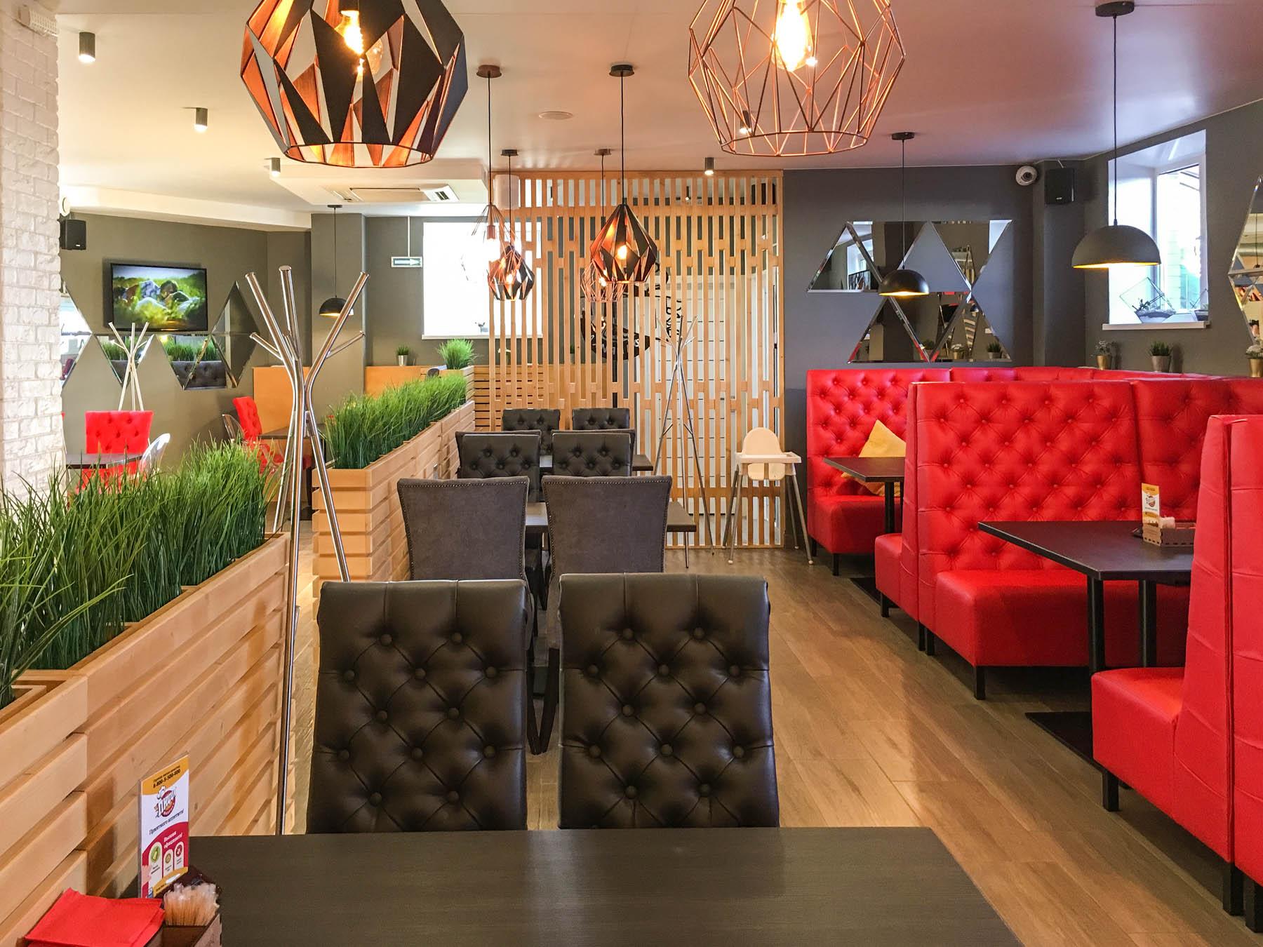 Кафе ПиццаФабрика во Владимире