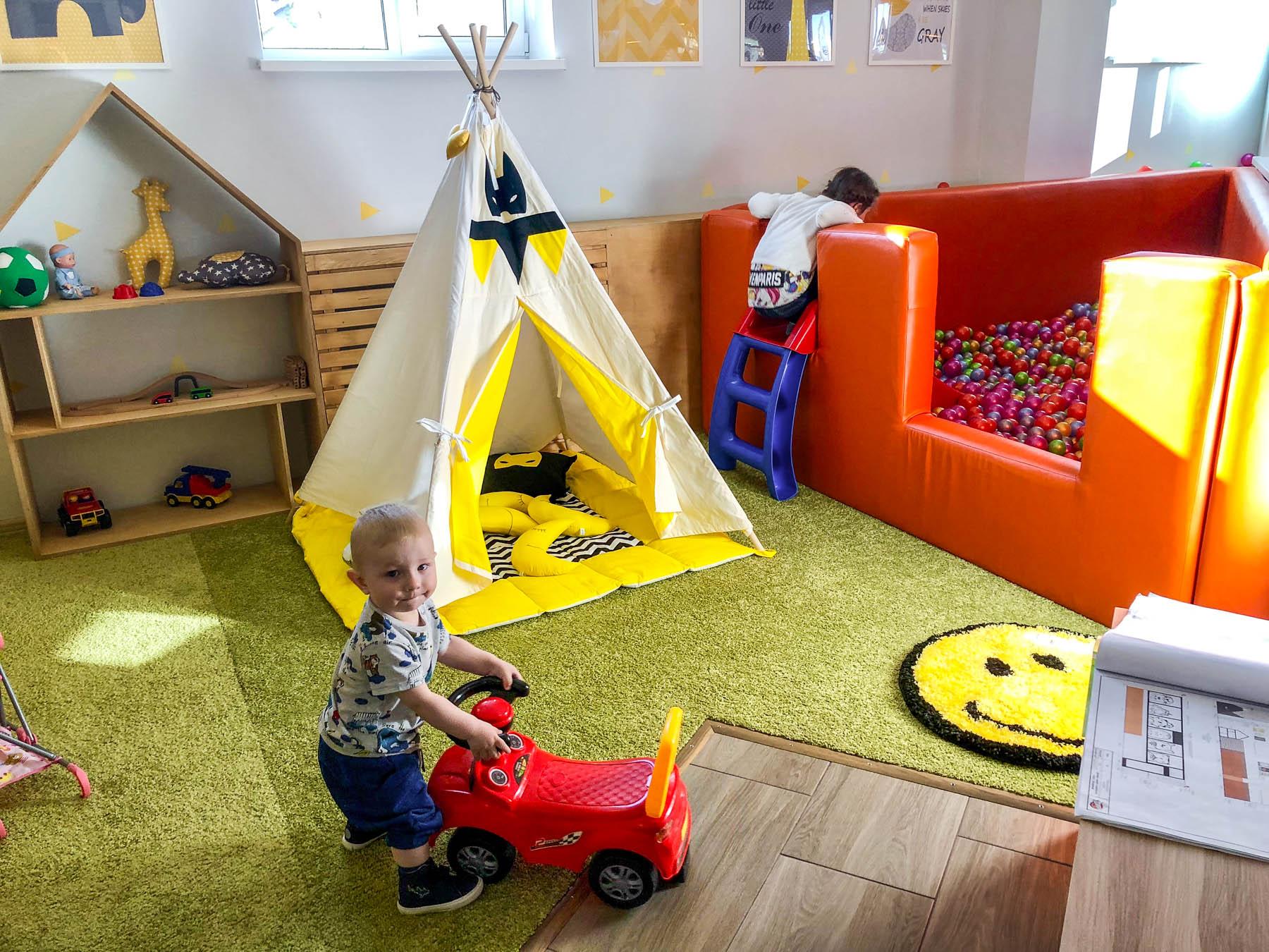 Детская комната в ПиццаФабрике Владимир
