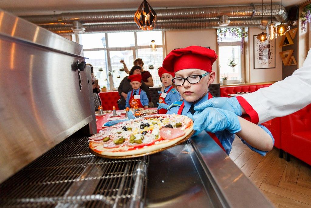мастер-класс пицца