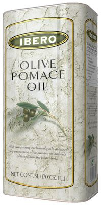 Ibero Olive Pomace Oil 5 litre in tin-can.