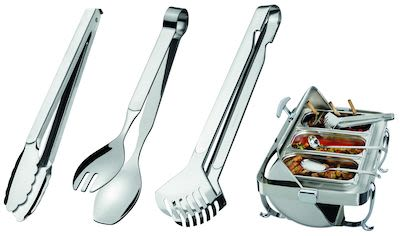 Amefa 3-pcs Serving Tongs Set