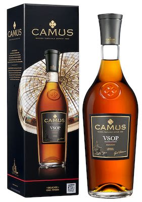 Camus V.S.O.P. Elegance Cognac 100 cl. - Alc. 40% Vol. In gift box.