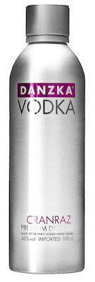 Danzka Cranraz Aluminum Bottle 100 cl. - Alc. 40% Vol.