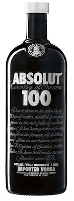 Absolut 100 Vodka 100 cl. - Alc. 50% Vol.