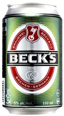 Beck's Beer 24x33 cl. cans. - Alc. 5.0% Vol.