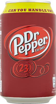 Dr. Pepper 24x33 cl can