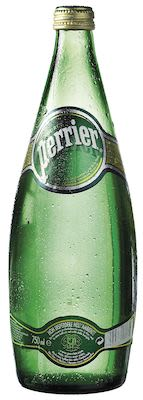 Perrier Natural Water 12x75 cl. blts.