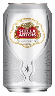 Stella Artois 24x33 cl. cans. - Alc. 5.0% Vol.
