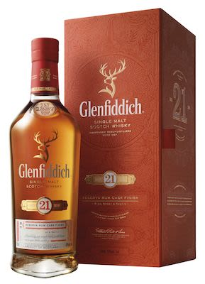 Glenfiddich Single Malt 21 YO, 70 cl. - Alc. 43.2% Vol. In gift box. Speyside.