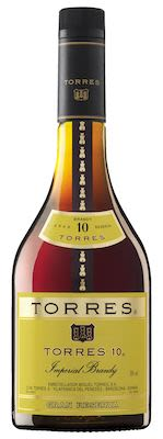 Torres 10 YO Brandy 100 cl. - Alc. 38% Vol.
