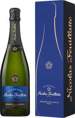 Nicolas Feuillatte Brut 75 cl. - Alc. 12% Vol. In gift box.