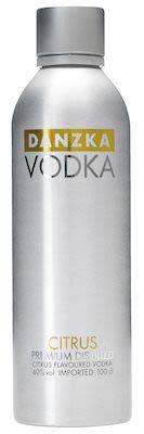 Danzka Citrus Aluminum Bottle 100 cl. - Alc. 40% Vol.