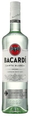 Bacardi Carta Blanca 100 cl. - Alc. 40% Vol.