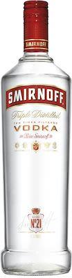 Smirnoff Vodka 100 cl. - Alc. 37.5% Vol.