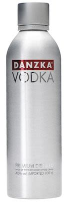 Danzka Vodka Aluminum Bottle 100 cl. - Alc. 40% Vol.