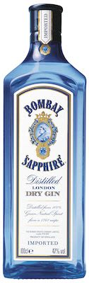 Bombay Sapphire Dry Gin 100 cl. - Alc. 47% Vol.
