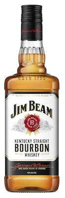 Jim Beam White Label, 100 cl. - Alc. 40% Vol.
