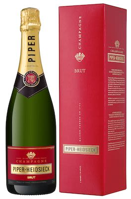 Piper Heidsieck Champagne Brut 75 cl. - Alc. 12% Vol. In gift box.