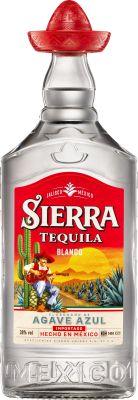 Sierra Tequila Silver 100 cl. - Alc. 38% Vol.