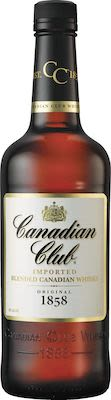Canadian Club, 100 cl. - Alc. 40% Vol. Canadian.