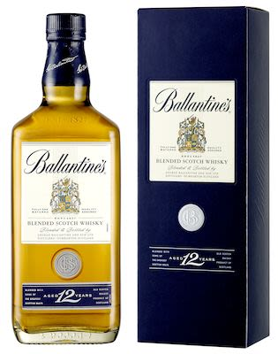 Ballantine's 12 YO, 100 cl. - Alc. 40% Vol. In gift box.