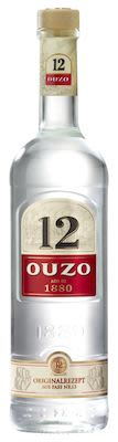 Ouzo 12 100 cl. - Alc. 40% Vol.
