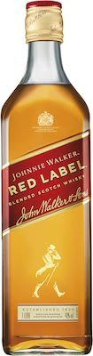 Johnnie Walker Red Label, 100 cl. - Alc. 40% Vol. In gift box.
