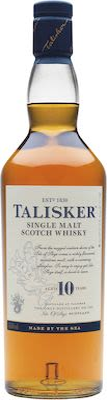 Talisker 10 Years Old 100 cl. - Alc. 45,8% Vol. Island.