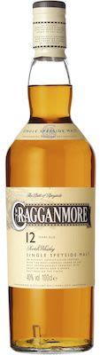 Cragganmore 12 YO Speyside 100 cl. - Alc. 40% Vol.