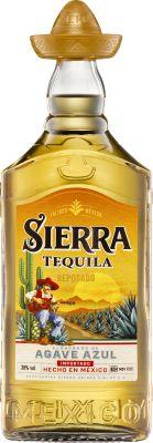 Sierra Tequilla Reposado 100 cl. - Alc. 38% Vol.