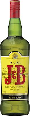 J & B Rare Scotch, 100 cl. - Alc. 40% Vol.