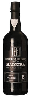 Madeira Finest Full Rich 5 years old 75 cl. - Alc. 19% Vol.
