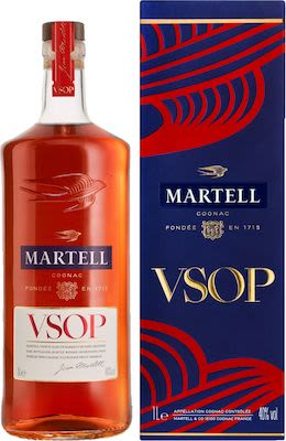 Martell VSOP Médallion 100 cl. - Alc. 40% Vol.
