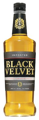 Black Velvet Whisky, 100 cl. - Alc. 40% Vol. Canadian.