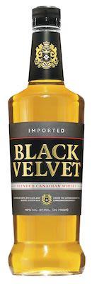 Black Velvet Whisky, 100 cl. - Alc. 40% Vol. Canadian.