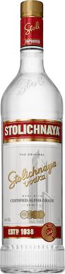 Stolichnaya Vodka 100 cl. - Alc. 40% Vol.