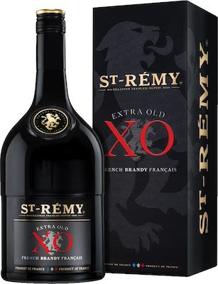 St. Remy Brandy X.O. 100 cl. - Alc. 40% Vol. In gift box.