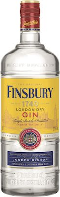Finsbury London Dry Gin 100 cl. - Alc. 37.5% Vol.