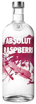 Absolut Raspberri Vodka 100 cl. - Alc. 40% Vol.