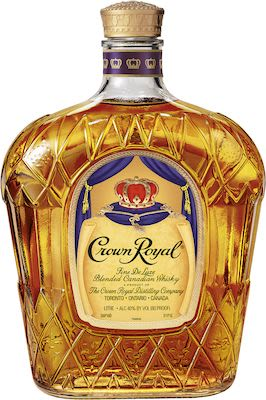 Crown Royal 100 cl. - Alc. 40% Vol. In gift box.