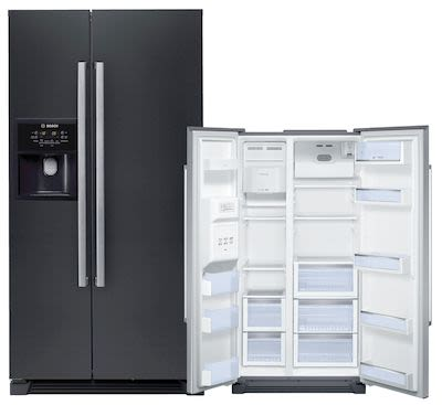 Bosch KAN58A55 Refrigerator/Freezer Black