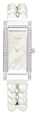 Misaki Ladies' Parisienne Watch White