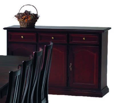 Sideboard, mahogany finish