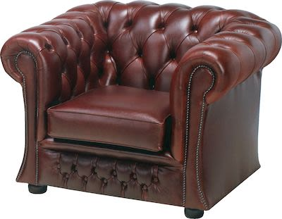 Chesterfield Gladstone Low Chair