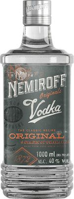Nemiroff Vodka 100 cl. - Alc. 40% Vol.