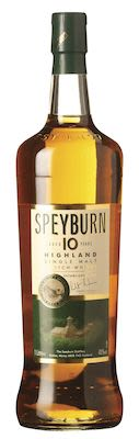 Speyburn 10 YO, 100cl. - Alc. 40% Vol. Speyside.