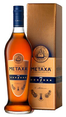 Metaxa 7 Star 100 cl - Alc 40% Vol. In gift box.