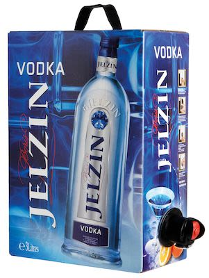 Jelzin Vodka BIB 300 cl. - Alc. 37,5% Vol.