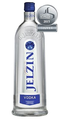 Jelzin Vodka 100 cl. - Alc. 37,5% Vol.