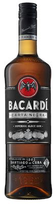 Bacardi Carta Negra 100 cl. - Alc. 40% Vol.